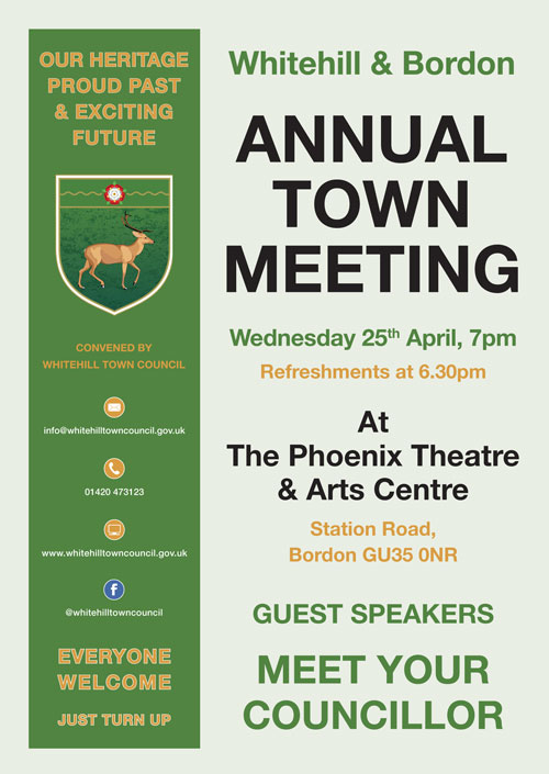 2018 Annual Town Meeting Poster
